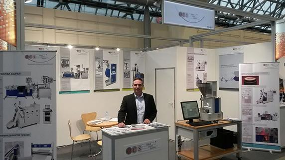 Стенд OCS Optical Control Systems GmbH на выставке «Интерпластика»